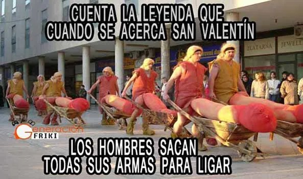 849) 12-02-15 procesion-bilbao-San-Valentin-Humor