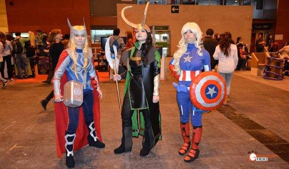 expocomic-2016-generacion-friki-thor-loki-capitanamerica-marvel-crossplay