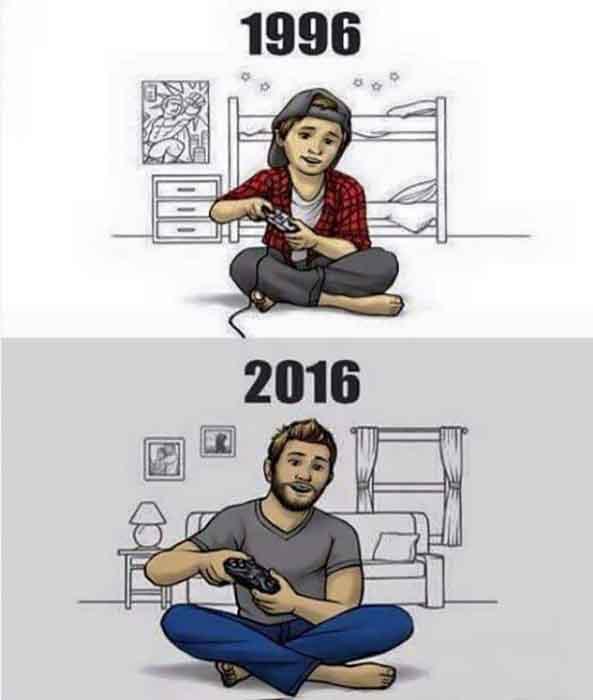 1374) 05-10-16 gamer-1996-2016-Humor