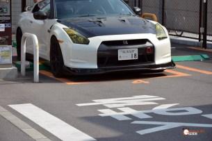Gasolinera en Kyoto