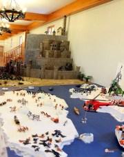 Playmobil-Exposicion-Jaca-2017-18-Generacion-Friki-ElSeñorDeLosAnillos-y-ExploracionArtico