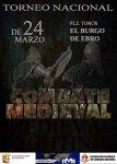 Torneo Nacional Combate Medieval (El Burgo de Ebro) @ El Burgo de Ebro