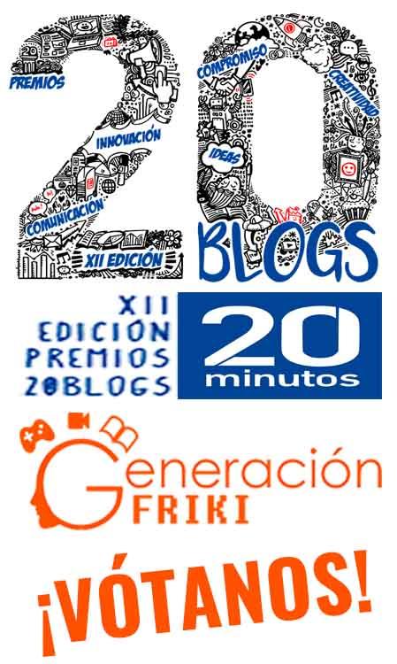 Generación Friki Vótanos 20Minutos 20Blogs