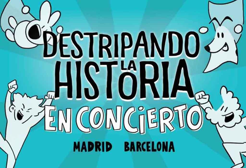 Concierto Destripando la Historia (Madrid) @ Joy Eslava