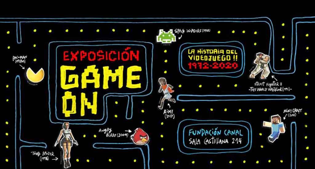 Game on (Madrid) @ Sala Castellana 214 de la Fundación Canal