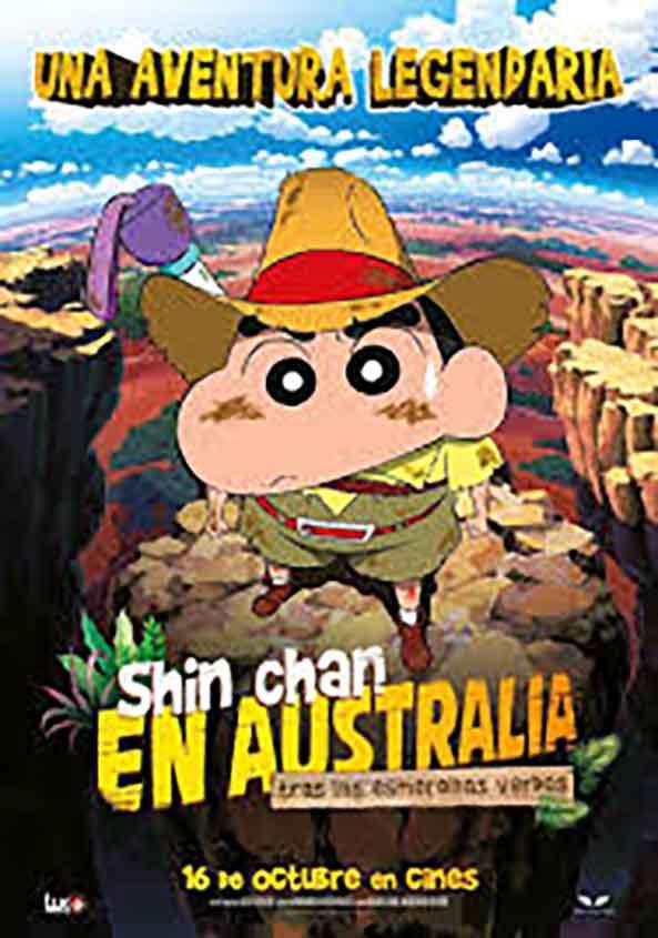 Shin-chan en Australia. Tras las esmeraldas verdes
