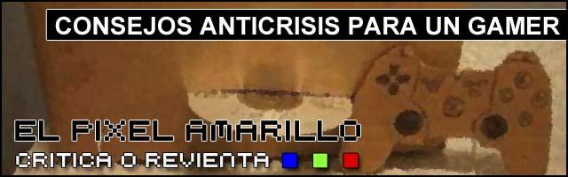 Cabeceras Pixel Amarillo 2014 Anticrisis para un gamer