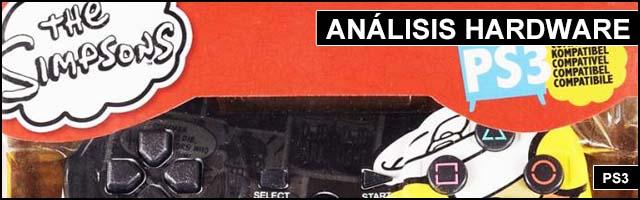 Cabeceras Analisis Hardware Mando PS3 Los Simpsons