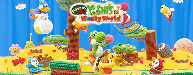 Poochy and Yoshiss Wooly World cab