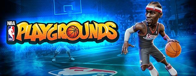 NBA Playgrounds cab