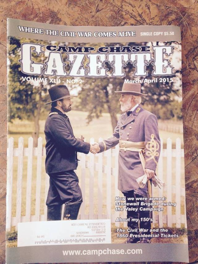 A Camp Chase Gazette cover