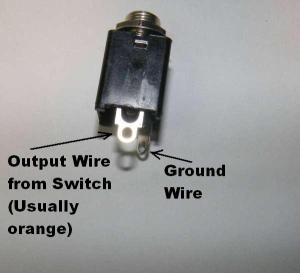 Wiring InputOutput Jacks | General Guitar Gadgets