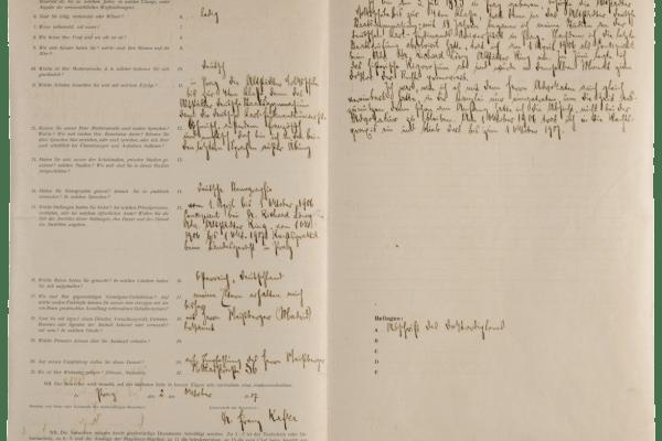 Storia di un impiegato speciale: Franz Kafka alle Generali