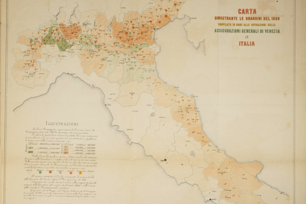 Hail Chart 1880 (Milan, 1881)