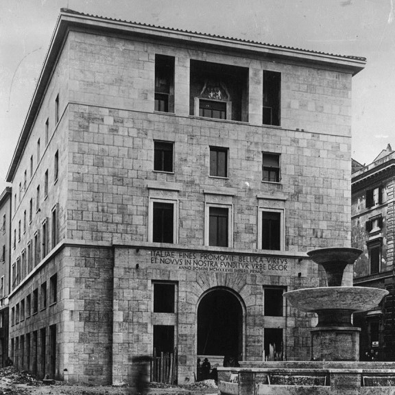 Building on Corso del Rinascimento, 1st lot (1940 ca.)