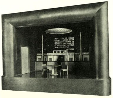 Automatic mini-theatre, welfare [1933]