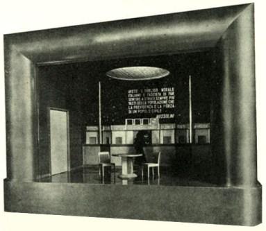 Automatic mini-theatre, welfare [1933]