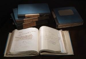 Volumi di corrispondenza della Segreteria centrale di Trieste (XIX secolo) / ph. Duccio Zennaro