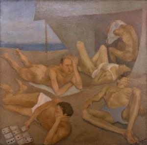 Alberto Ziveri, La spiaggia (1934)