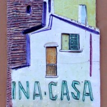 INA-Casa ceramic tile (20th century) / Generali Group Photo Archive