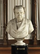 Francesco Pezzicar, Masino Levi, marble (1879) / ph Duccio Zennaro