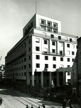 Palazzo Piacentini, Trieste (1936-1937)