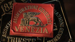 Fire plate of Generali in Venice (1920s-1950s)