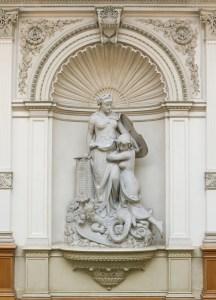 Ivan Rendić, Allegoria della Previdenza (1886-1888) / ph. Massimo Goina