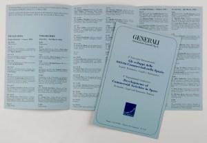"""Programma del secondo convegno internazionale sul tema """"Gli sviluppi delle attività commerciali nello spazio"""", organizzata da Generali (Roma, 3-4 marzo 1983)"""