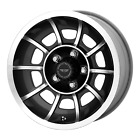 VECTOR 15x7 Blank SATIN BLACK MACHINED 0mm