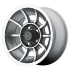 AMERICAN RACING VN47 Vector 15X7 5X45 Anthracite Gray Qty of 4
