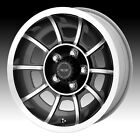 American Racing VN47 Vector Machined Anthracite 15x7 5x45 0mm VN475765