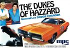 MPC 706 1969 General Lee Dodge Charger 125 Scale Model Kit