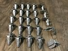 25 pcs 62 79 Chrysler Dodge Plymouth door panel retainer clips stamped 3 4 stem