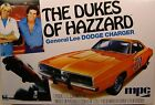 DUKES OF HAZZARD 1969 DODGE CHARGER GENERAL LEE MPC 125 SCALE PLASTIC MODEL KIT