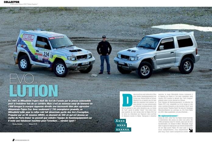 """Mitsubishi Pajero EVO """"Dakar Replica"""""""
