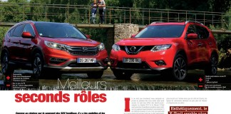 Honda CRV vs Nissan X-Trail