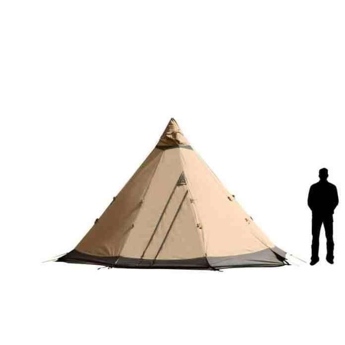 Gamme tentes Tentipi