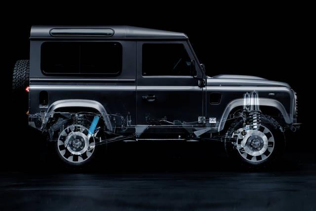 Defender préparation Land Rover