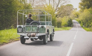 Land Rover serie 1 restauration