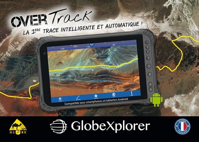 Globe GPS Overtrack