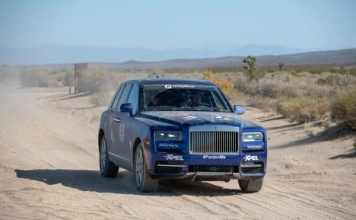 Rolls Royce Cullinan SUV rallye 4x4 rebelle rallye USA