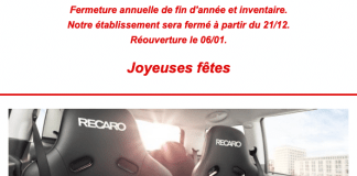 Sièges Recaro chez Eurojapan cars and parts