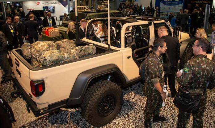 Jeep Gladiator US Army