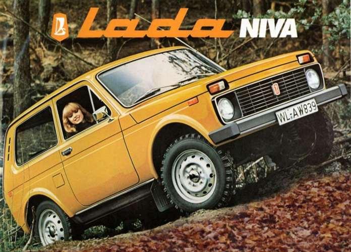 Lada Niva 4x4 Renault