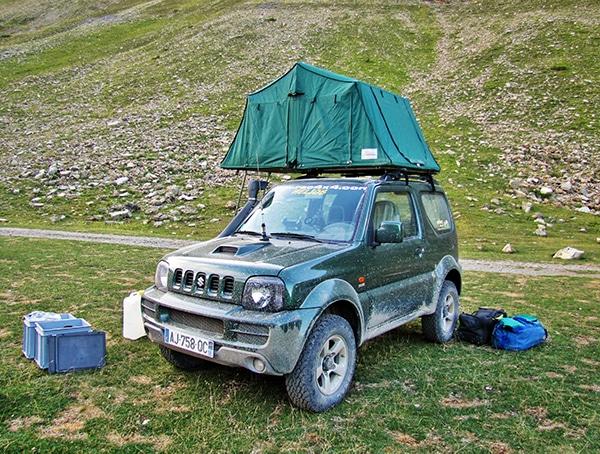 tentes de toit Jaes Baroud 25 ans