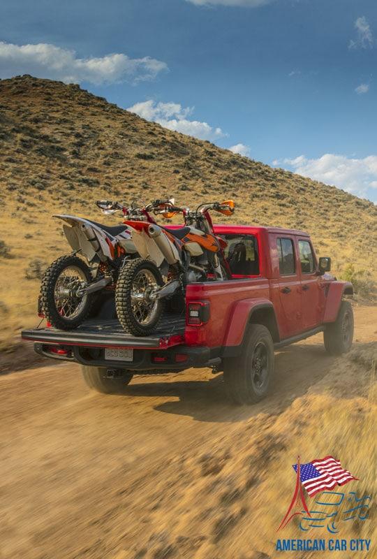 prenez l'ADN Jeep et ajoutez lui une benne : vous obtenez le Gladiator Pick up Jeep