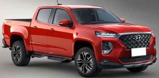 Hyundai 4x4 pick up 3,0L V6 turbo diesel