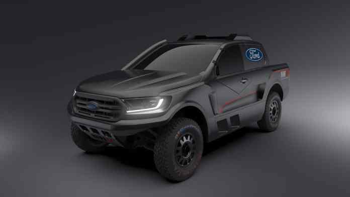 Ford  Nouveau Ranger Sud-Africain rallye raid