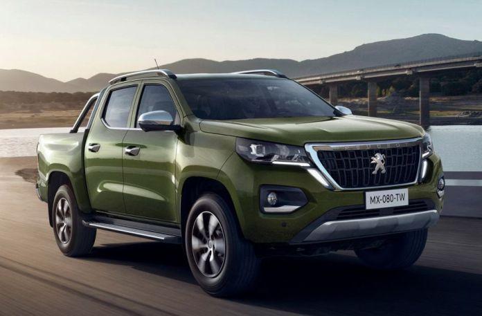 Peugeot Pick up Landtrek 4x4 nouveauté